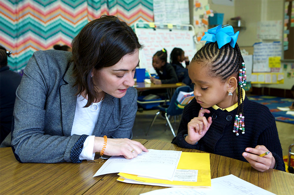 Individualize instruction by conferencing with children